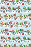 BP2 562 - Balící papír 70x50 dárkový vánoční
