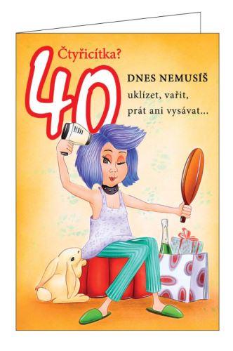 BOD 2022/40Ž    - Blahopřání do obálky