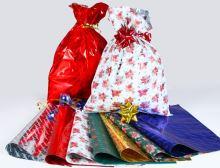 67 - Sáček polypropylen 250x400 vánoční (100ks/bal)