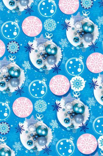 BP1 519 - Balící papír 70x100 dárkový vánoční