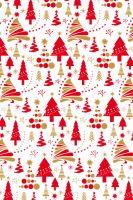 BP1rol va - Bal.papír 2x 70x100 v roličce - vánoční