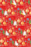BProl2va - Bal.papír v roličce návin 2m vánoční