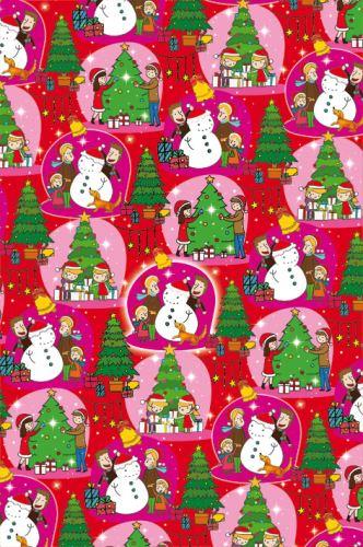 BP2 517 - Balící papír 70x50 dárkový vánoční