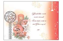 BOE 1701  - Blahopřání do obálky