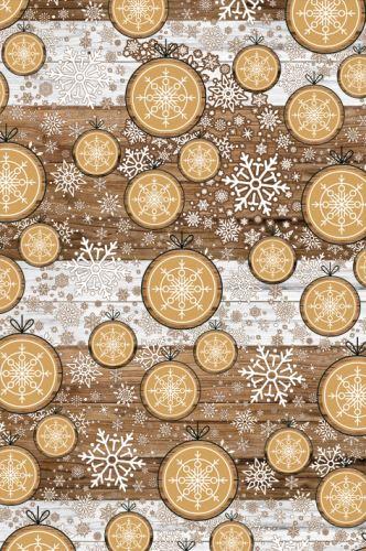 BP1 521 - Balící papír 70x100 dárkový vánoční
