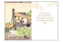 BOB 2516/60 - Blahopřání do obálky