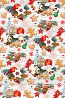 BProl3va - Bal.papír v roličce návin 3m vánoční