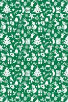 BP1 489 - Balící papír 70x100 dárkový vánoční