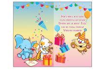 BOH 2596 - Blahopřání do obálky (roky 1-9)