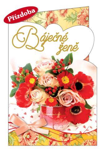 BOB 2147/50 - Blahopřání do obálky