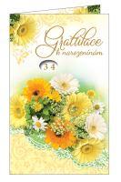 BOH 2594 - Blahopřání do obálky