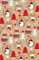 BP1 518 - Balící papír 70x100 dárkový vánoční
