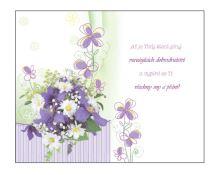 BOA 2004 - Blahopřání do obálky